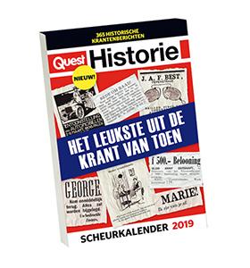 Quest Historie scheurkalender 2019