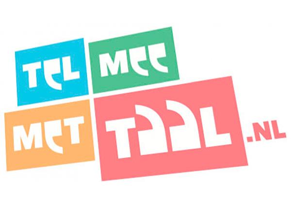 Tel mee met Taal-logo