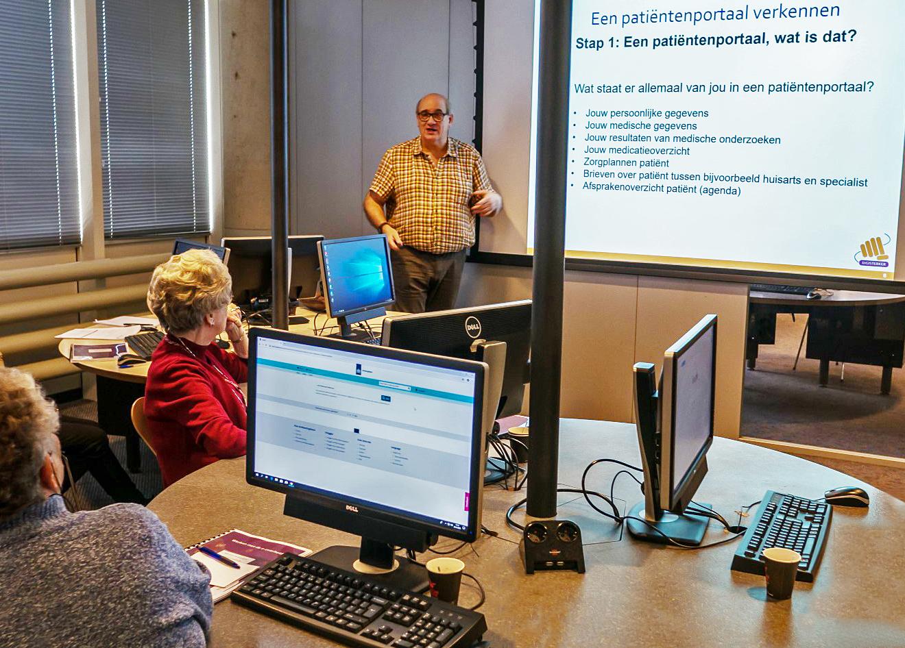 Deelnemers tijdens workshop Donorregistratie